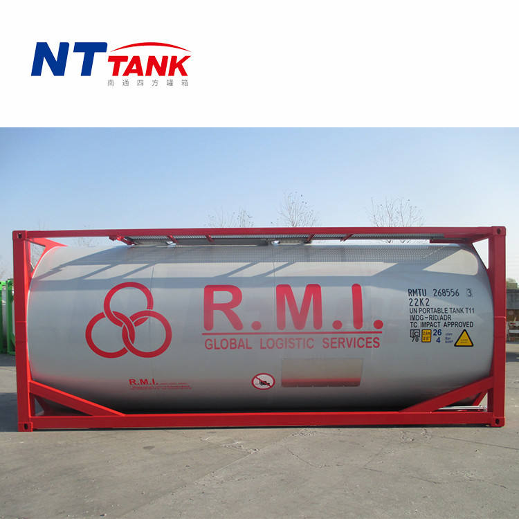 Milk transport size customized stainless steel tank container price