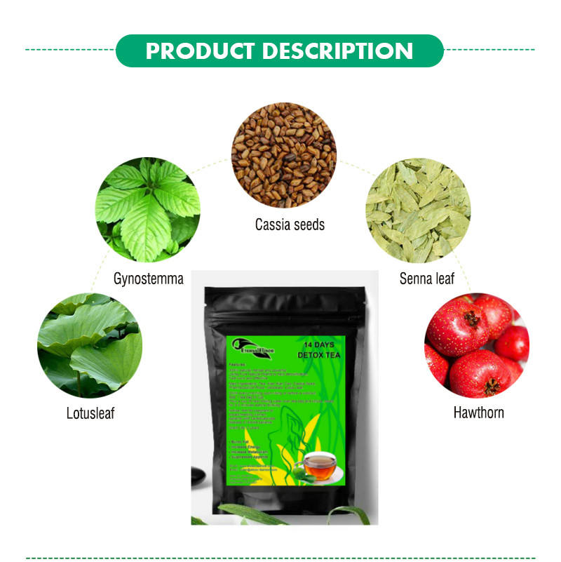 Factory OEM Best seller fat removal clinic tested herbal flat tummy slimming tea best weight loss tea natural detox tea