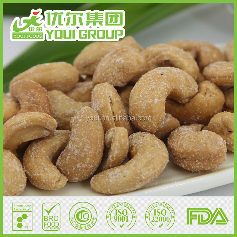 Oil Roasted& Salted Cashew with Best Price