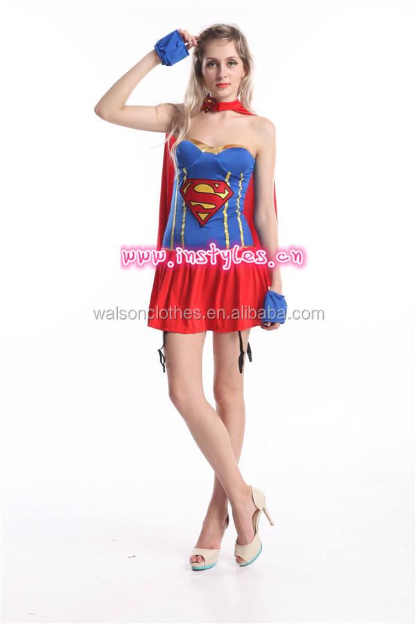 Walson vestido de Lujo Cine y TELEVISIÓN Adultos Grupo de Edad superhero costume