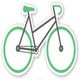 China manufacture provide Bicycle sticker Custom Stickers, Make Your Own Stickers |