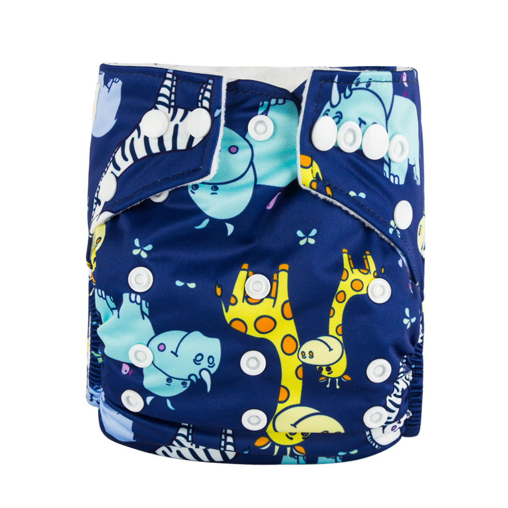 Babyland One Size Fit All Pocket Style OEM Reusable Baby Diapers