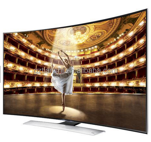 Terbaru 65-Inch Curved 4 K Ultra HD 3D Smart LED TV