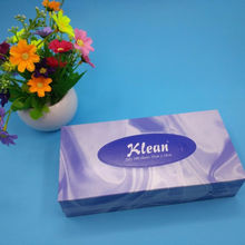 100% Virgin OEM Facial Tissue Boxed custom facial tissu box cute facial tissues