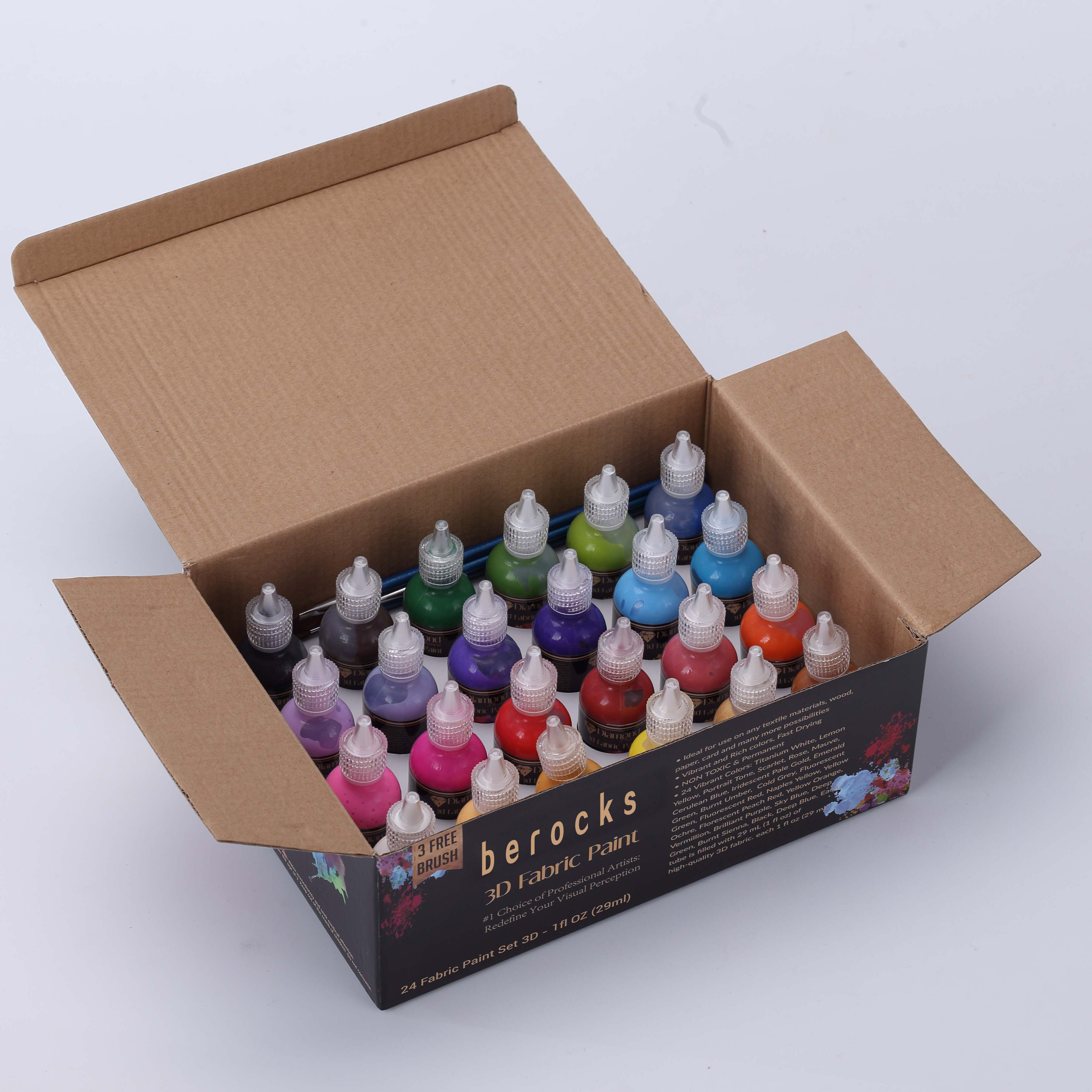 Environmental Safe Non-Toxic Washable washable puffy paint