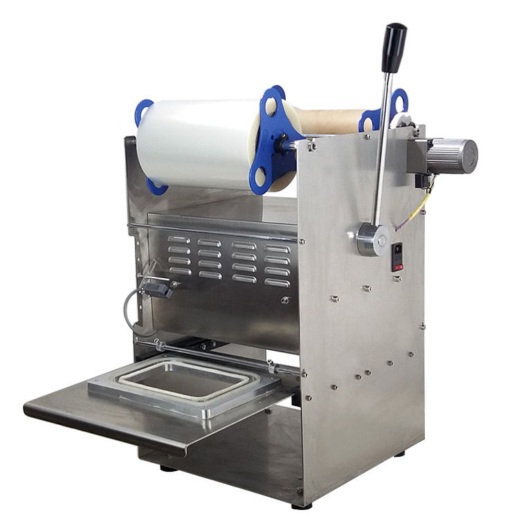 Handleiding type plastic/food tray sluitmachine/Manual Plastic Tray Sealer Machine