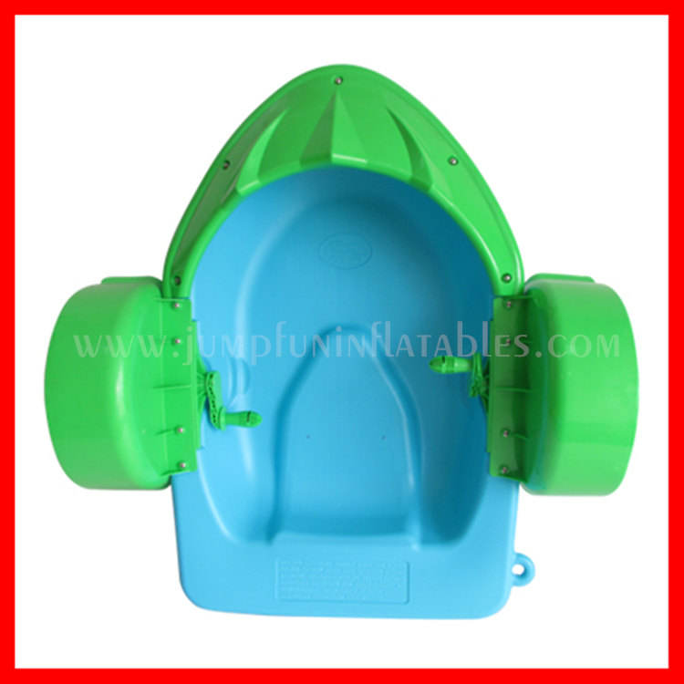 Plastic hand paddle boot sale, MINI water boot kids water leuk speelgoed verhuur