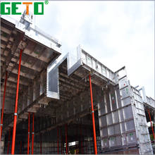 High capacity 4mm slab formwork aluminium concrete forms as green materials
