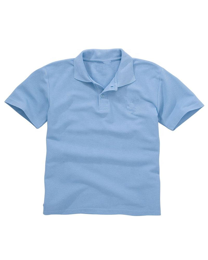 OEM Kids School Uniform 100% Cotton Polo Shirt