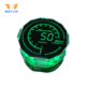 Graphic Lcd Graphic Lcd Display PMVA Customized Round Shape Graphic LCD Display With Green/Blue/White/Red LED Backlight For Automobile/Motorbikes