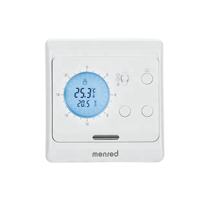 Menred E6.. Lcd Screen Programmable Electronic Radiator Thermostat For Underfloor Heating System
