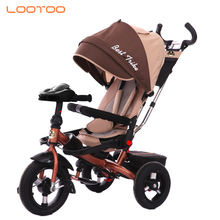 10 inch AIR wheel 3 in 1 pedal trike rid on car for australia / folding kids bike / duck baby tricycle