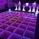 Portable mirror illusion wedding party infinity starlit colourful 3d led dance floor