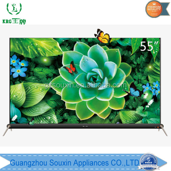 Competitive wholesale price flat TV 32 40 inch widescreen RGB real 4K with original brand screen