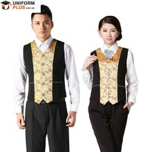 custom hotel reception staff uniform design