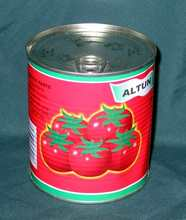 halal canned food 70g 210g 400g 800g 2200g Packing Organic canned 28% to 30% brix tomato paste,tomato ketchup,tomato puree