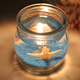 Latest candle jar crystal Gel Wax candle jar with wooden wick