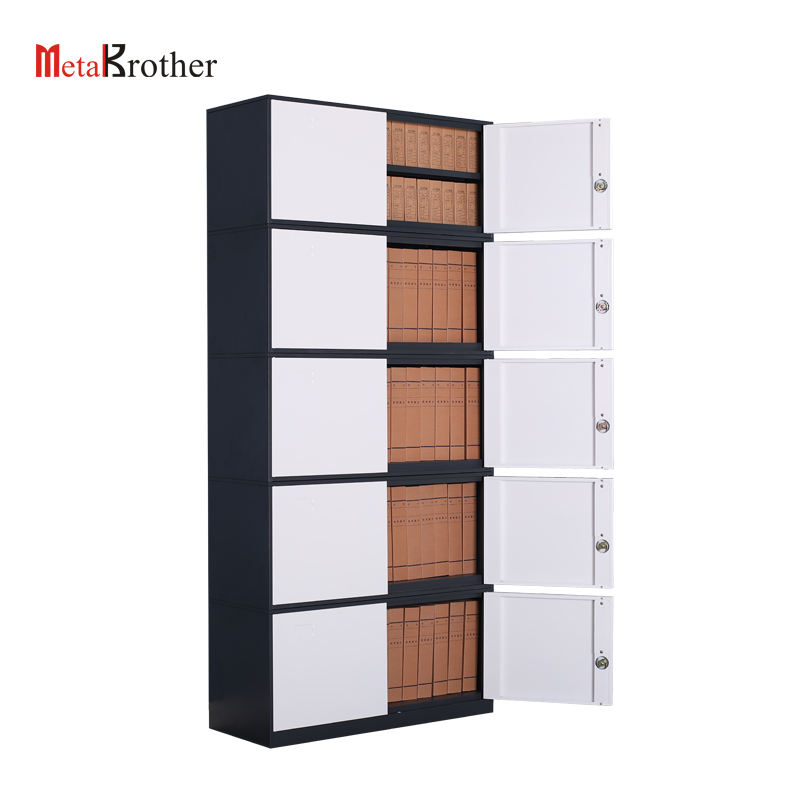 Thin Edge Office 5 Layer Metal Filing Cabinet Luoyang 2019 New Style CKD File Cabinet Storage Lockers Hiqh Quality Cheap Price