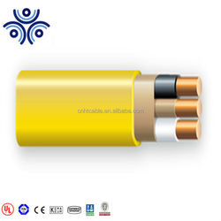 American market UL719 NM-B `mutil core with cable paper insulation flat cable