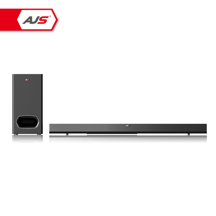 Dibuat Di Cina 2.1 Home Theater Sistem Speaker Suara Bar dengan Subwoofer Nirkabel TV Suara Bar