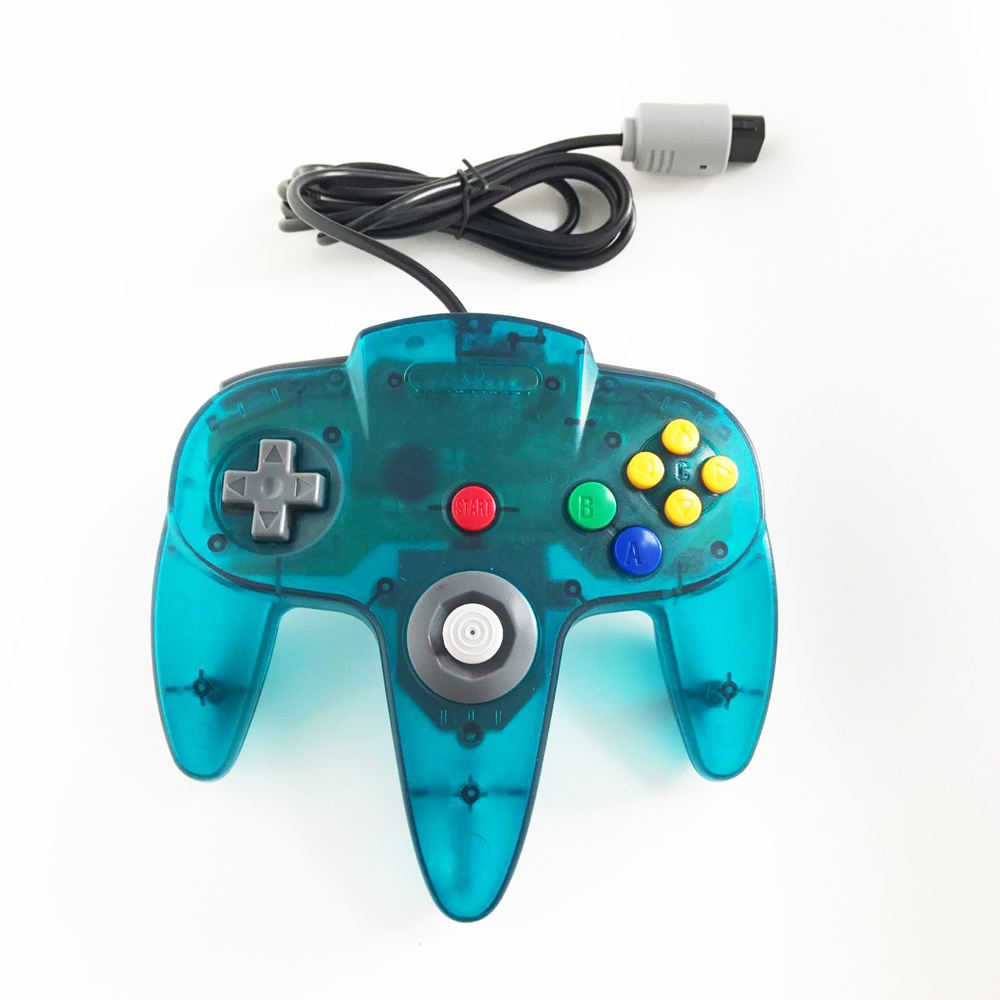 Retro Classic 64 N64 Controller,Wired Controller Gamepad Joystick for N64 Nintendo 64 Console Video Games System Black