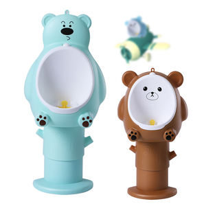 Baby urinal bucket wall hanging baby kid plastic urinal with windmill extensible available