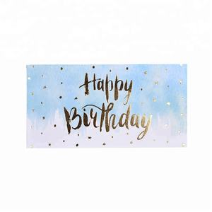 Die Cut Personalized Creative Printable Birthday Greeting Paper Gift Card