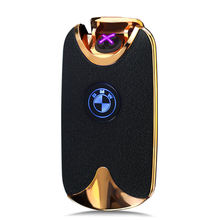 Gerui JL-943V Eco-friendly USB Charging Electric Double Arc Lighter for Cigarette