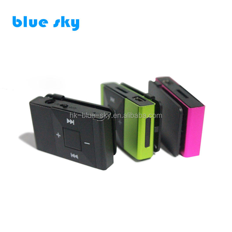 wholesale bulk mp3 player mini clip mp3 player with TF Card supporting