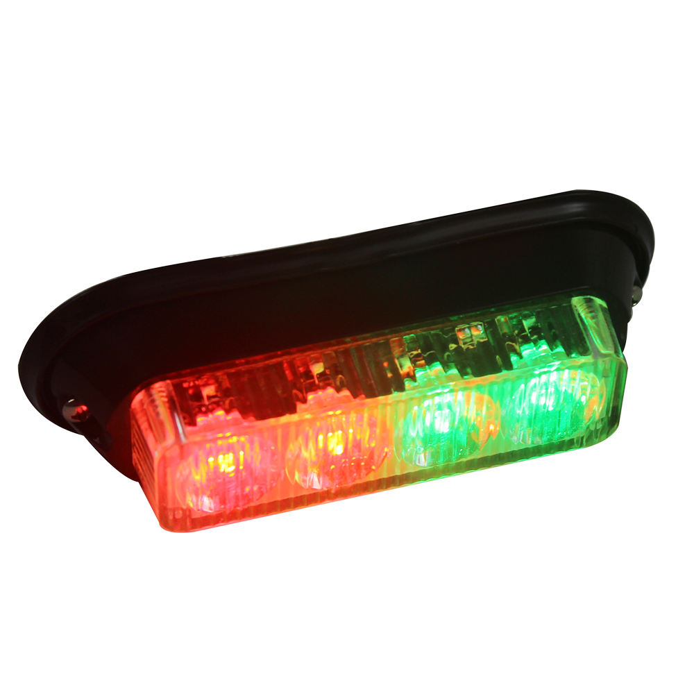 Factory Flash Red Blue Flashing HeadLight High Intensity Led Ambulance Police Truck Grille Strobe Led Warning Light head