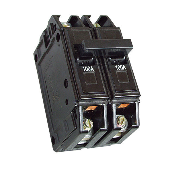 BH Bolt on MCB 5A 10A 15A 20A 30A 40A 50A 60A 70A 80A 90A 100A 1P 2P 3P Mitsubishi tipo ramo Bolt on Circuit Breaker
