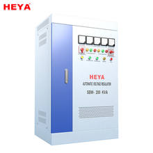 CE ROHS approved 100kva stabilizer SBW series three phase compensation AC electrical voltage stabilizer or adjustor
