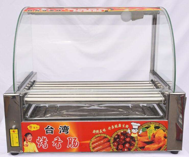 EHD-5C Chinese machines leveranciers hot dog roller en bun warmer/hot dog roller grill