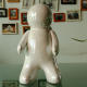 China New Style Spaceman Shape Ceramic Home Decoration
