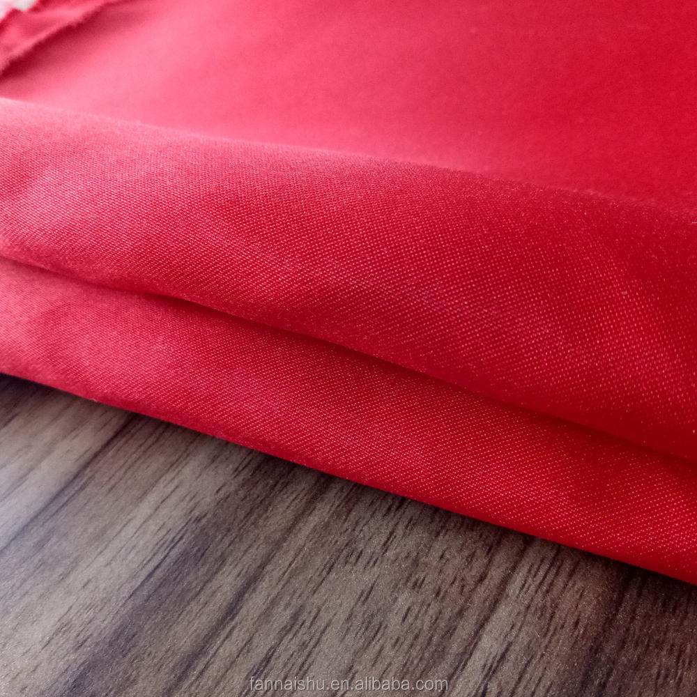 Own factory manufacture 100% polyester dull dyed 75D*100D satin