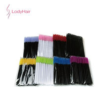 Wholesale Eyelash Extension Brush 50 Pieces/Bag Eyelash Brush Mascara Wands Applicator Eyelash Extension Tools Distributors
