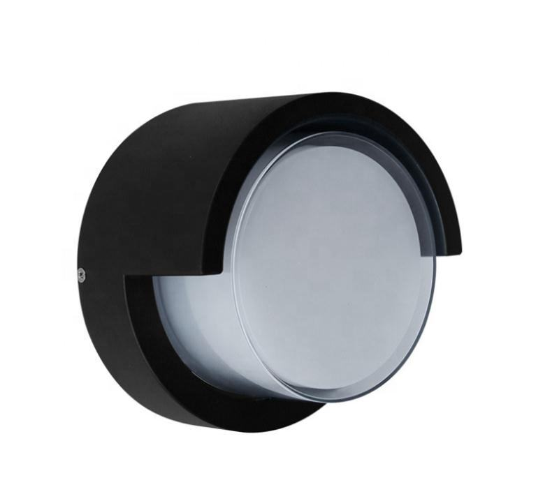 High quality 12W round IP65 outdoor up and down wall light outdoor garden night light fixture