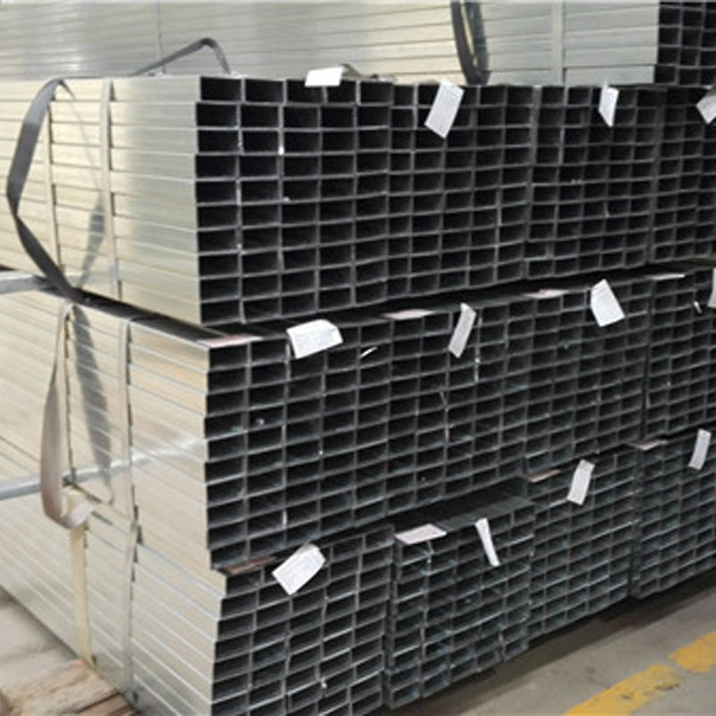 19*19*0.95*5800mm Best Quality pre-galvanized rectangular hollow sections/RHS/BOX PROFILE GI steel