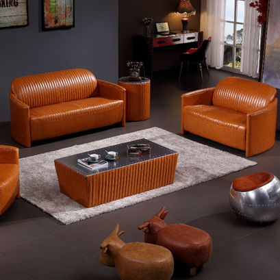Italian Designer New Design Italian High Quality heated leather sofa