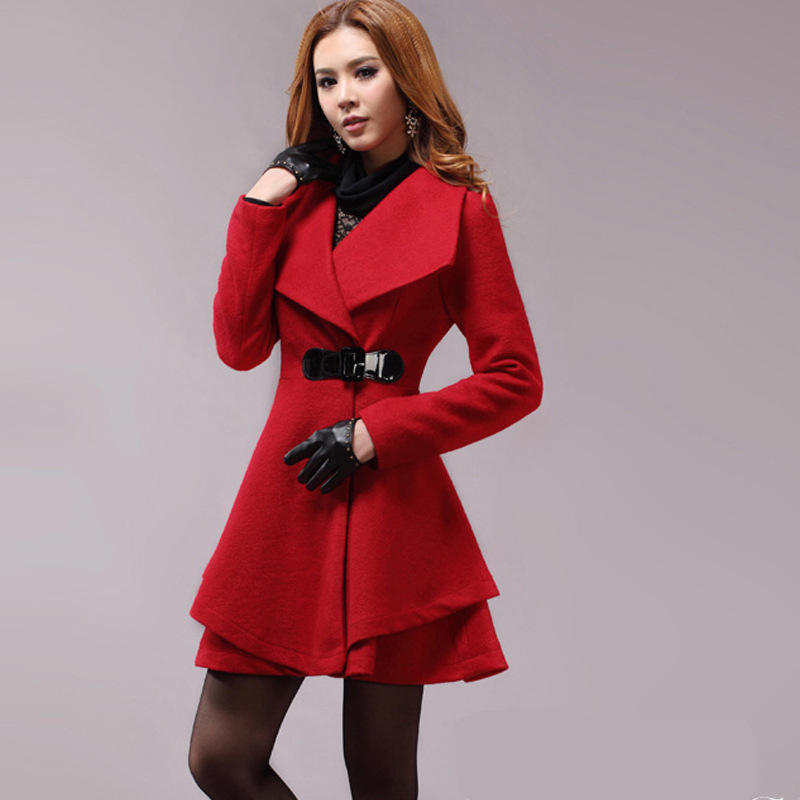 2017 women winter autumn jacket long women coat slim suit collar jacket
