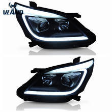 VLAND manufacturer for auto car accessory for head light for Innova LED Headlight 2012 2013 2014 2015 with moving turn signal