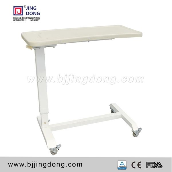 Cheap ABS Medical Hospital Furniture Overbed Table