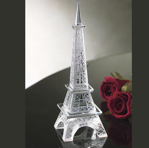 Eiffel Tower souvenir gift model crystal tower MH-CT001