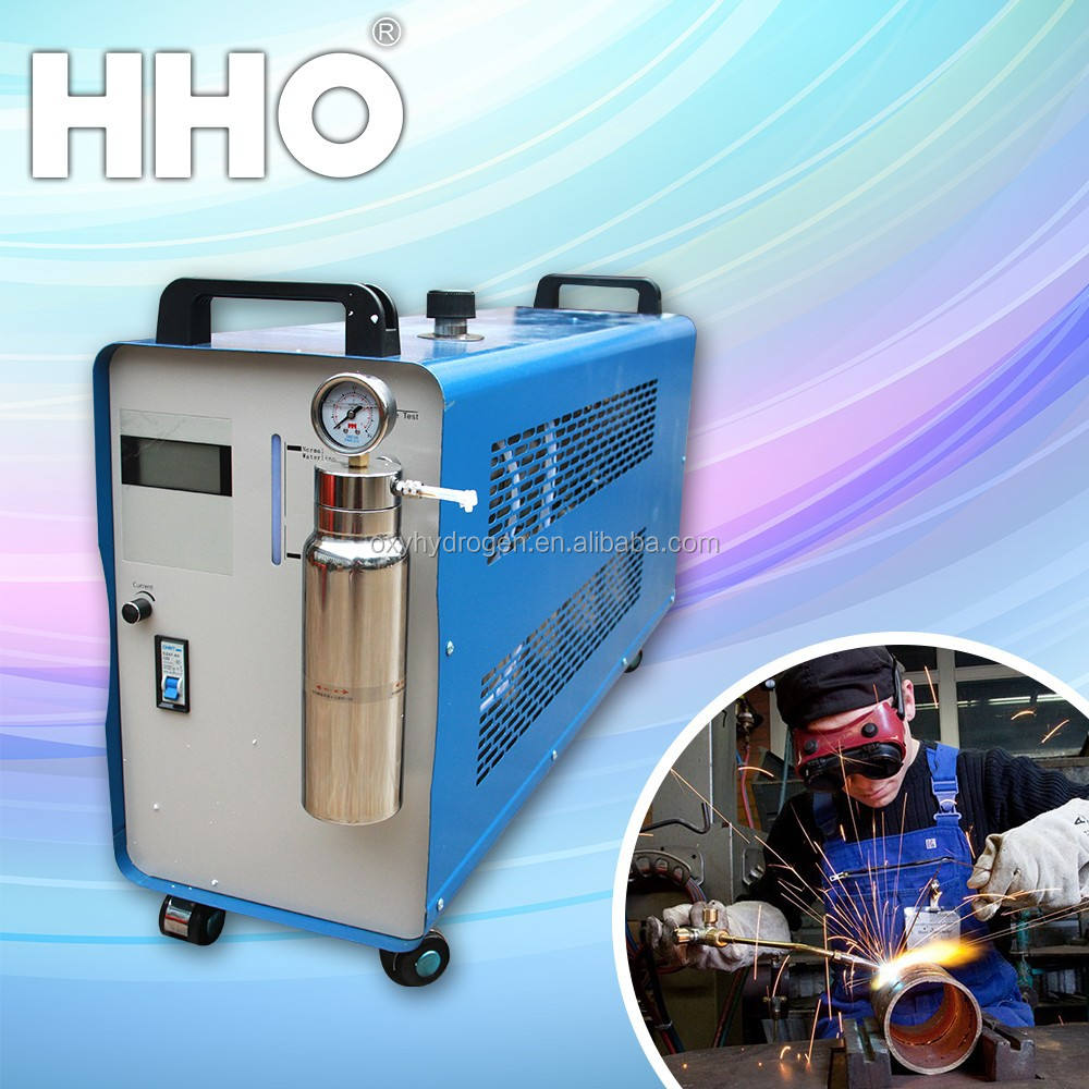 Portable oxy-hydrgen welding machine