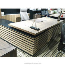 High end modern design office furniture china desk for boss JN-A05