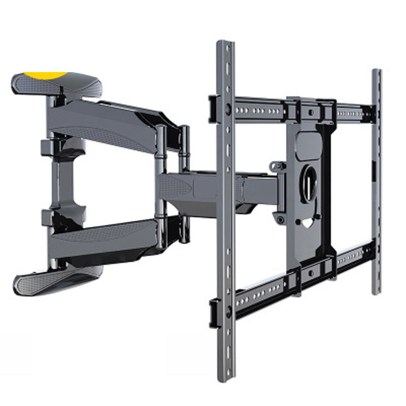 "universal strong ultra slim 6 arm 45""-70"" 600x400 vesa mount retractable led full motion swivel up and down tv mount"