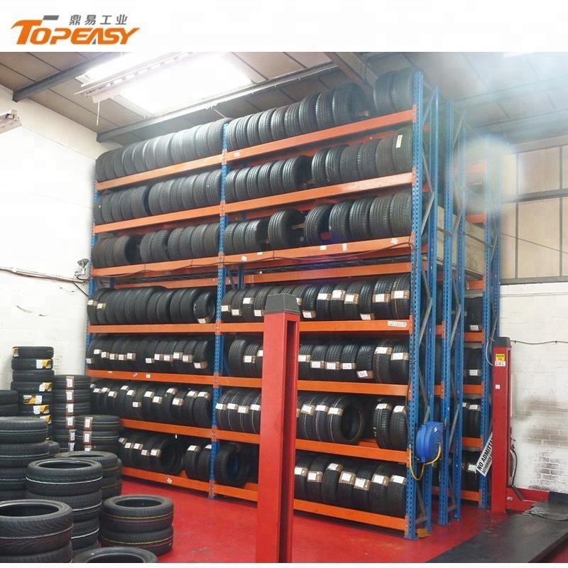 Beam Racks [ Storage Rack Store ] Tire Storage Rack Powder Coated Steel Beam Type Heavy Duty Tire Storage Rack For 4s Store