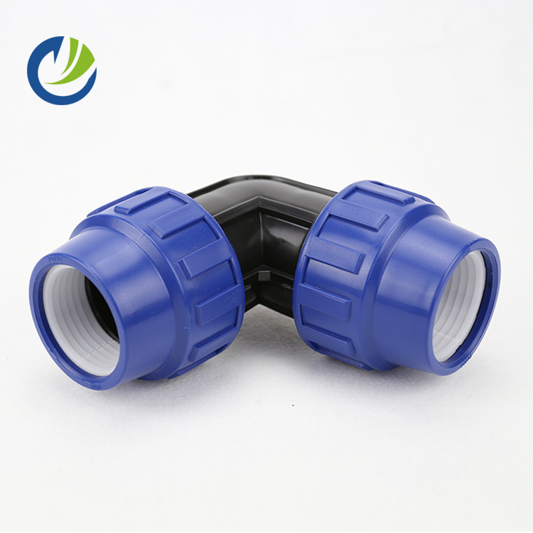 Rotating reusable weldolet hose three way elbow pvc eccentric reducer push to connect push in pu tube pprc poly pipe fittings