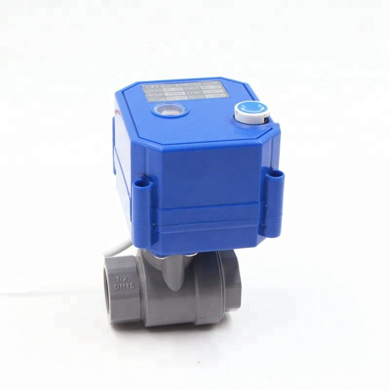 motorized ball valve with manual override/ motorized ball valve pvc/ motorized ball valve with manual control
