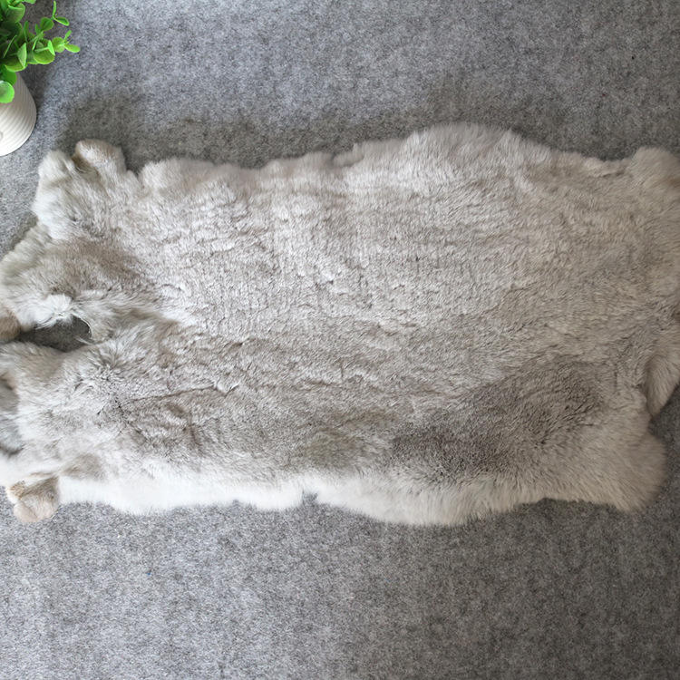 Lamb Fur Skin / High Quality Tanned Real Fox Pelt for garment Collar